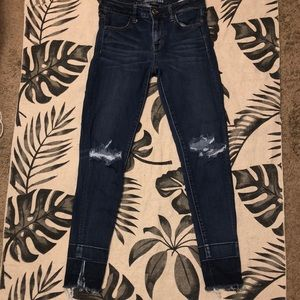 American Eagle Outfitters dark washed jeggings